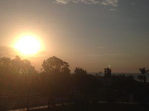 Sonnenuntergang 1180 Wien